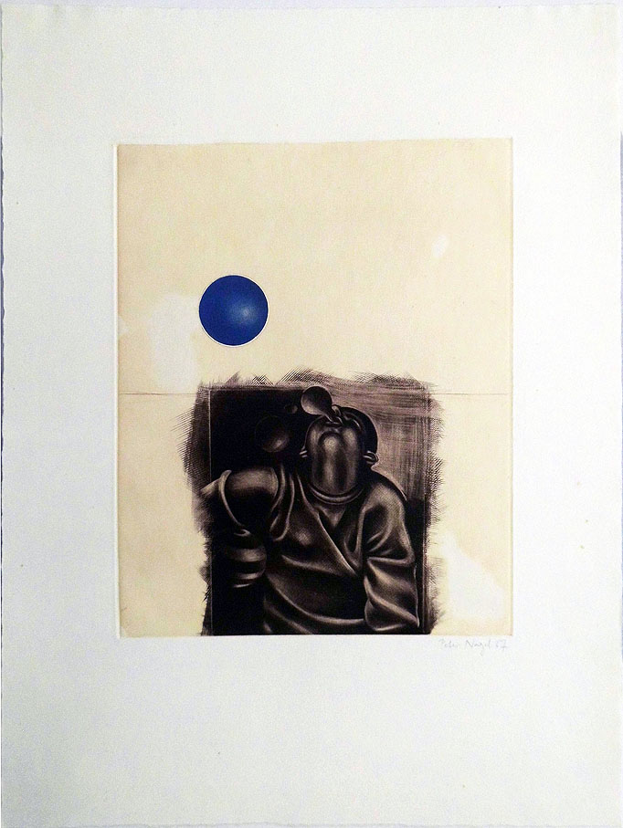 Peter Nagel 38 x 50 cm