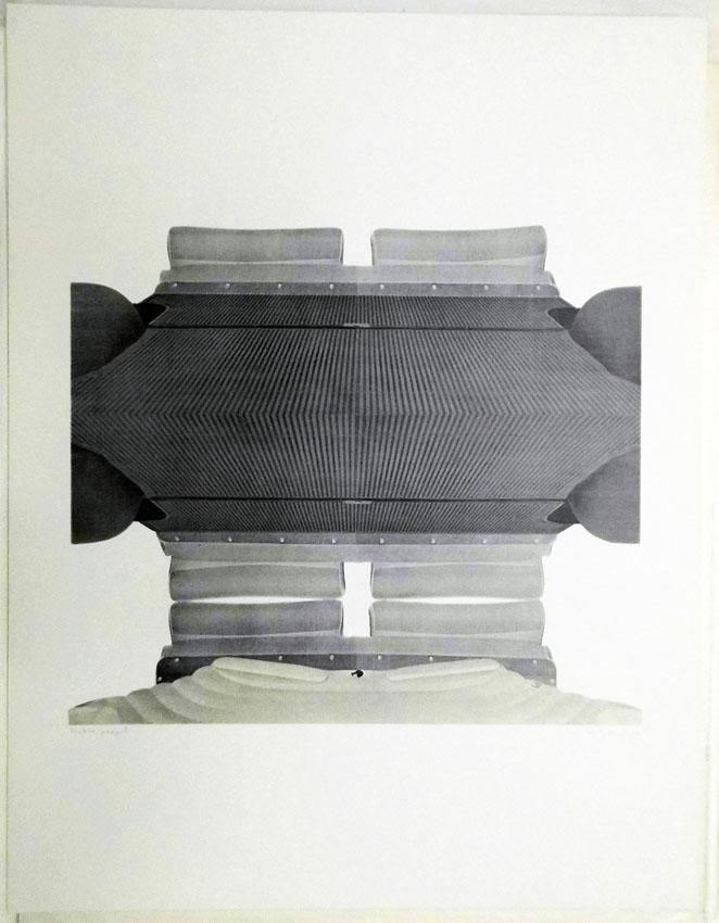 K.Schult 1969 50 x 65 cm