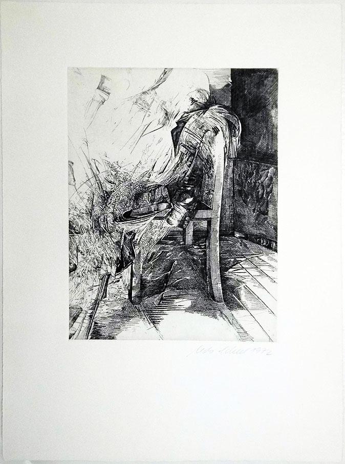 Udo Scheel 40 x 53 cm