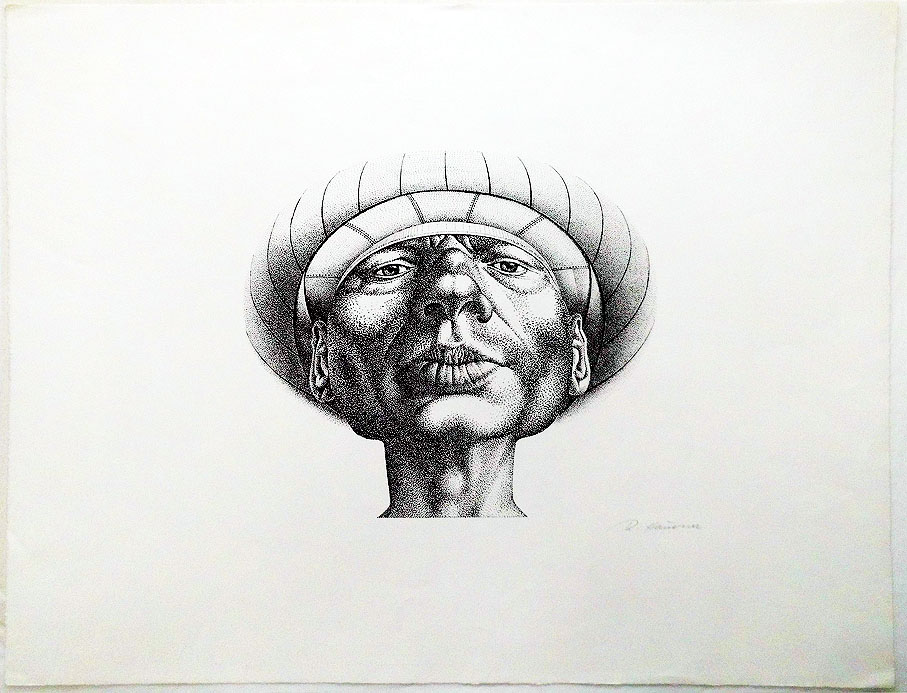 Rudolf Hausner Adam 64 x 49 cm