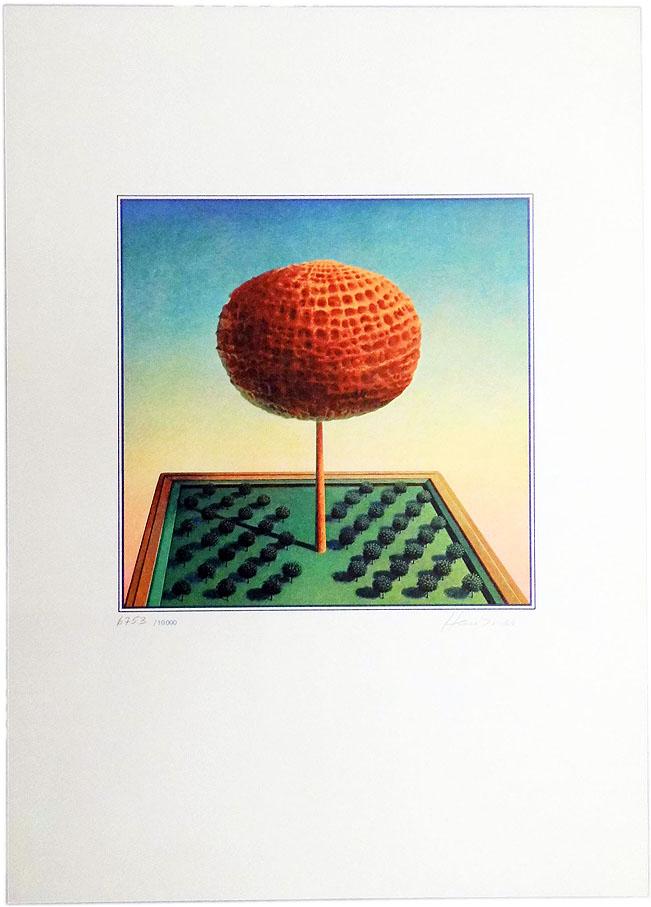 Rudolf Hausner 30 x 42 cm