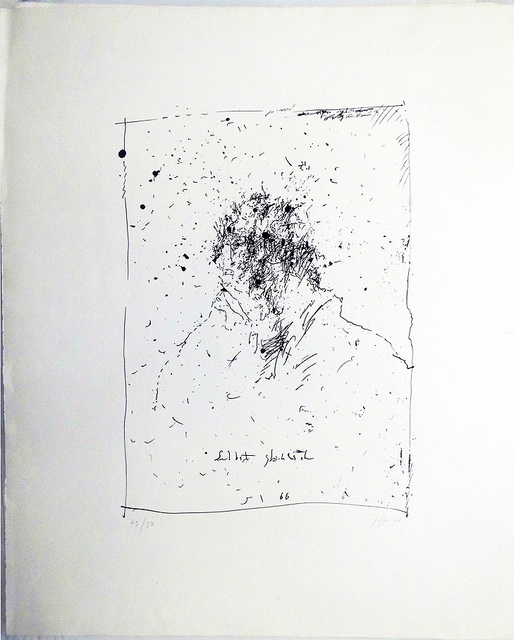 Horst Jansen 1966 64 x 76 cm