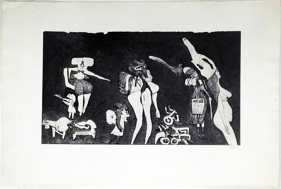 Morell 78 x 52 cm Jahresgaben Kunstverein Hamburg 1970