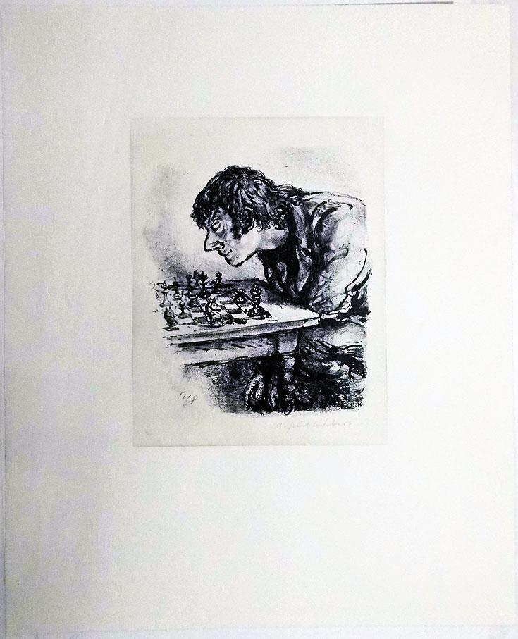 Paul Weber 53 x 65 cm