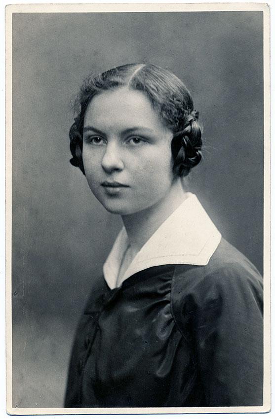 Adelheit Berg 1896-1982 my grandaunt 2nd degree