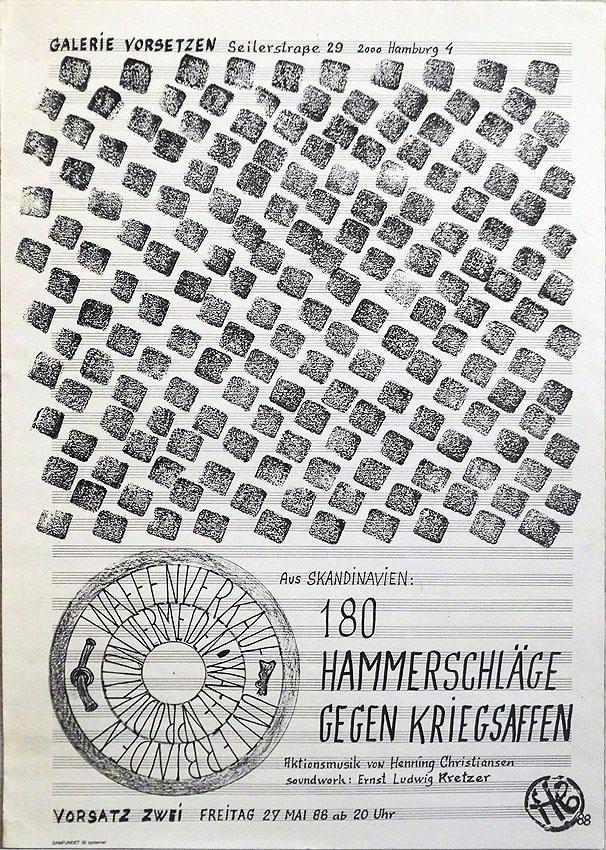 Henning Christiansen Hamburg 1988