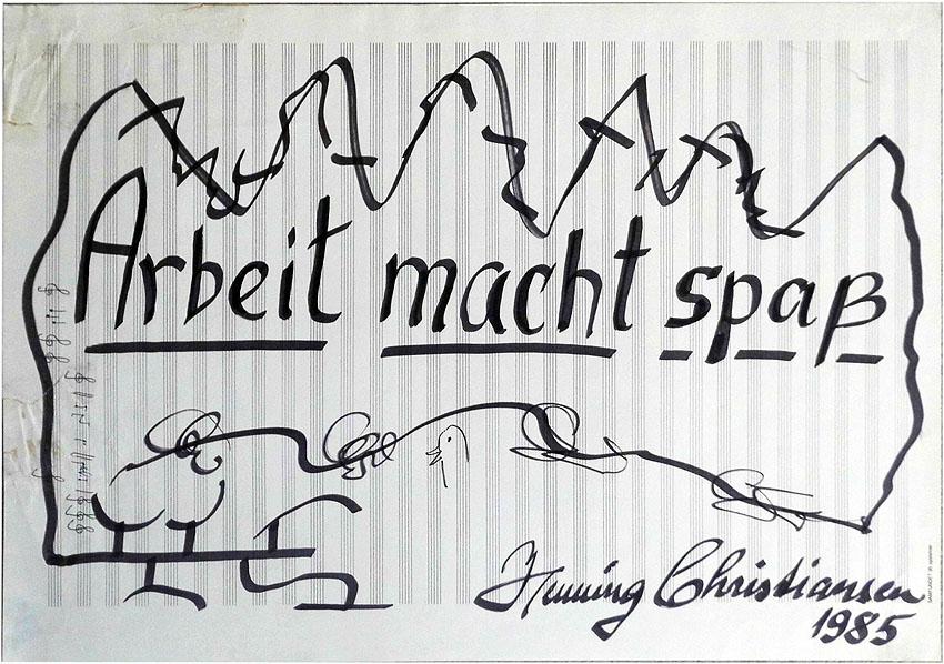Henning Christiansen Hamburg 1985