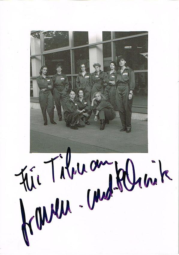 Frauen und Technik Hamburg 1992