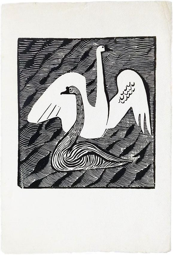 Gerhard Marcks Holzschnitt 38 x 25 cm Kestner-Gesellschaft Hannover 1948