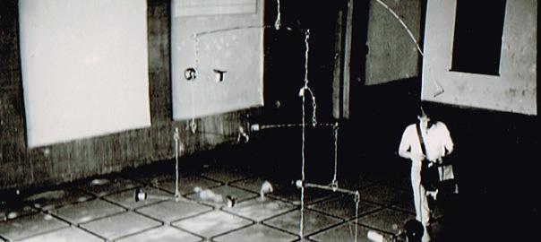 Fojer der Hochschule für bildende Künste Hamburg 1989