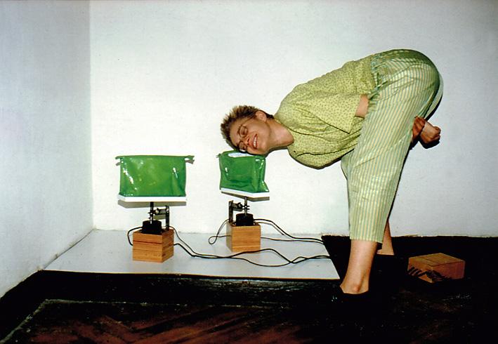 Galeria Wschodnia mit Jolanta Ciesielska, Lodz (Pl) 1991