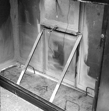 Schalterkonstruktion des Klappstuhls