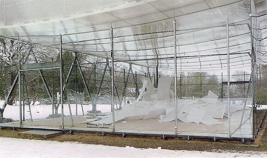 Wewerka Pavillon Münster 2001 Außenansicht