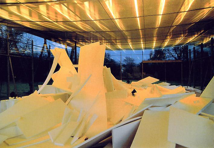 Wewerka Pavillon Münster 2001 mit Lichtspiel