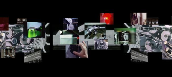 Tempo-Tempo, 3-Kanal-Videocollage, Screenschot 1