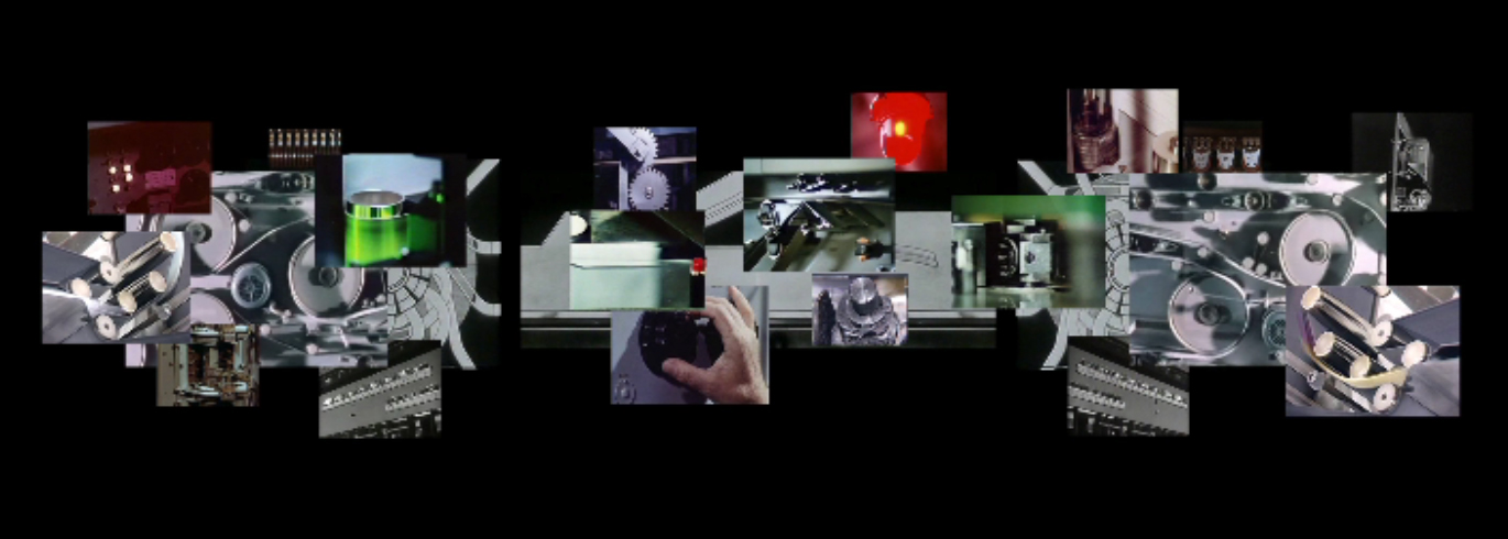 Tempo-Tempo, 3-Kanal-Videocollage, Screenschot 1