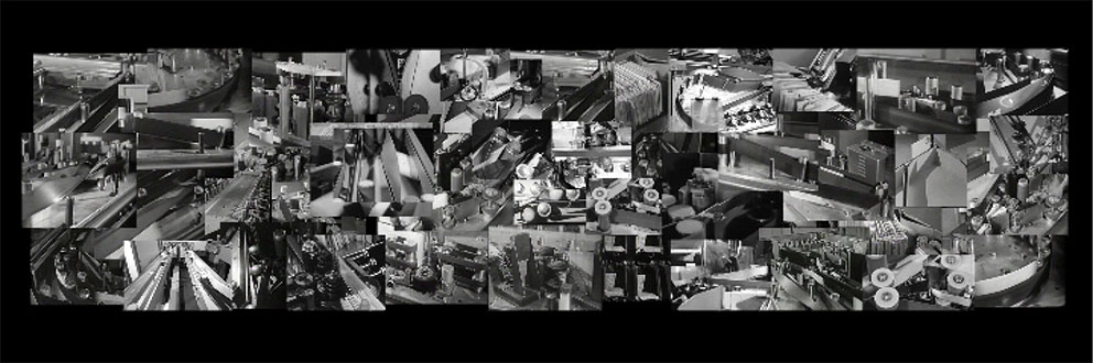 Tempo-Tempo, 3-Kanal-Videocollage, Screenschot 4