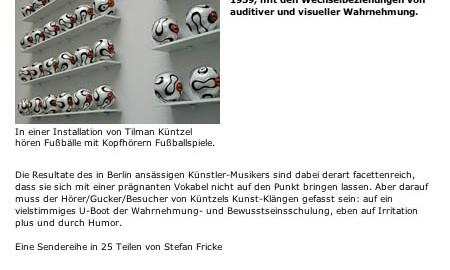 screenshot der hr2 homepage