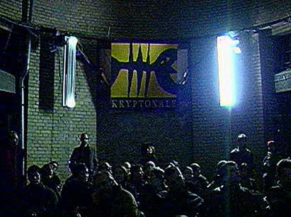 Kryptonale 9 Festival für raumbezogene Künste Berlin 2003