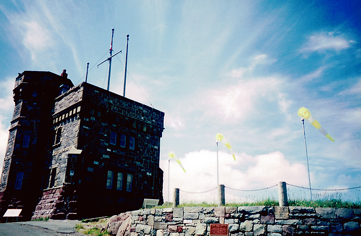 Carbot Tower on signal hill