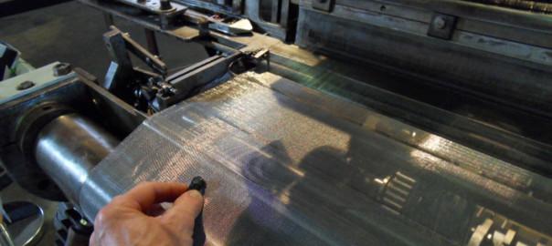Strickmaschinen im TextilWerk Bocholt 2014