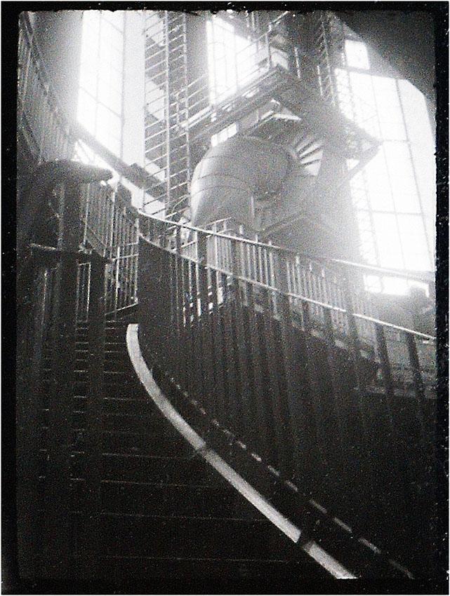 alter Elbtunnel Hamburg 1982