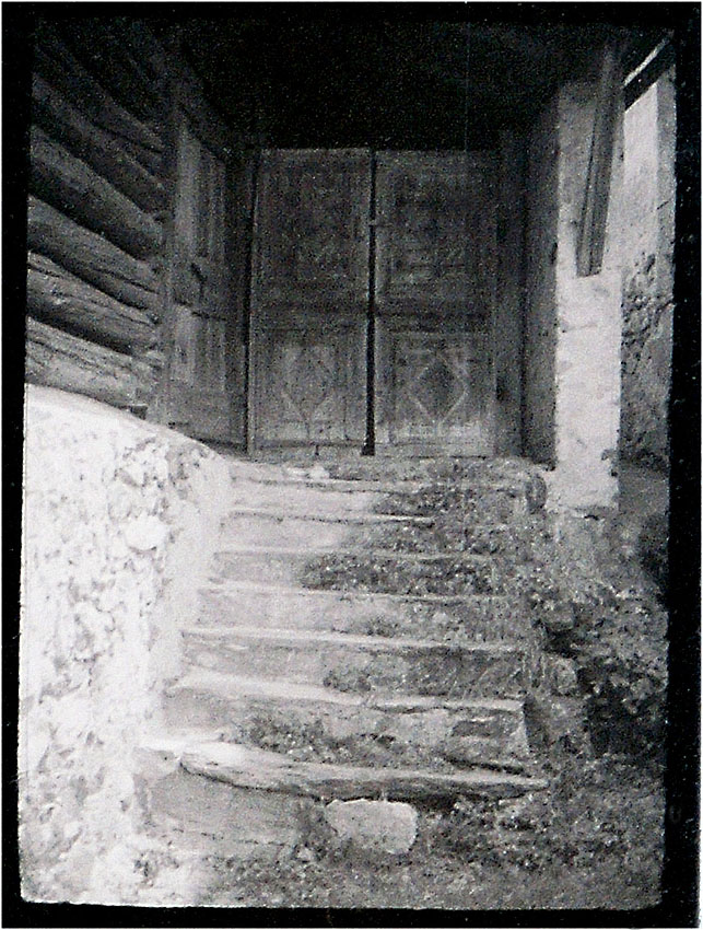 Alberto Giacomettis Geburtsort Engadin 1989