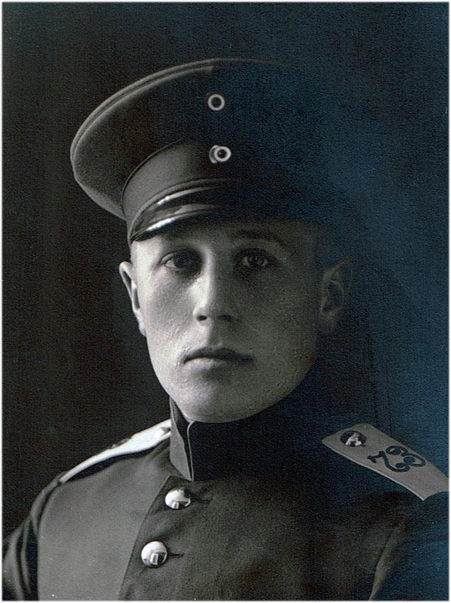 Karl Hansen my grandfather 1893-1945