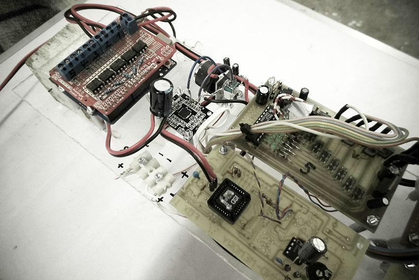 Timer, Verstärker, Soundchip, Lichtsteuerung