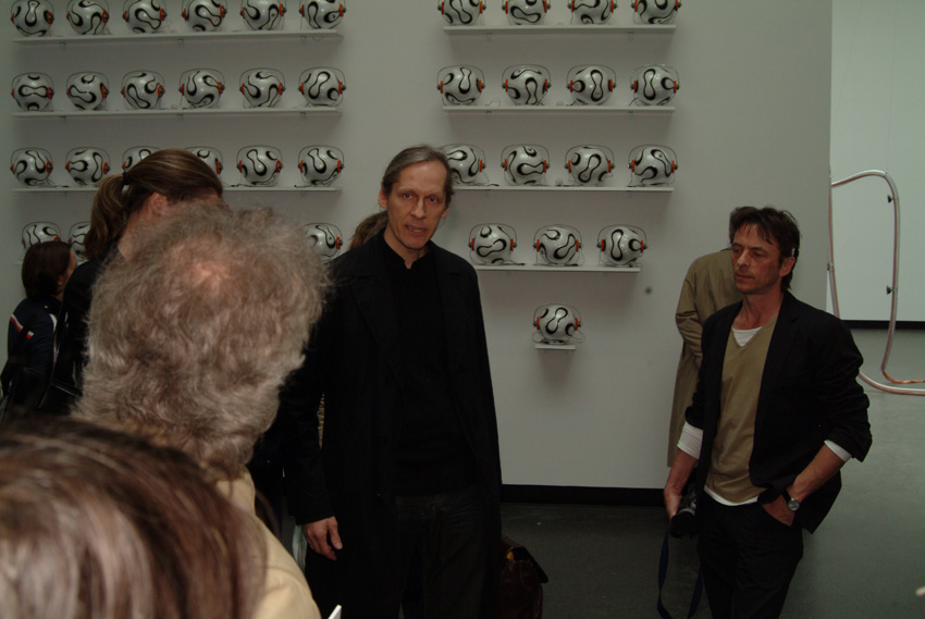 Eröffnung Sonambiente 2006 mit Georg Weckwert Akademie der Künste Berlin Pariser Platz