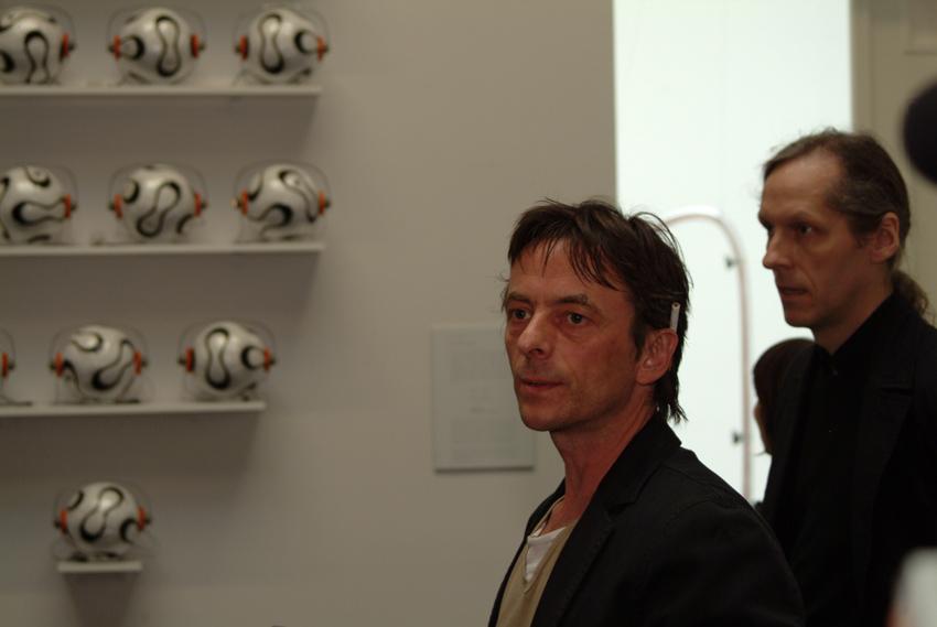 Eröffnung Sonambiente 2006 mit George Weckwert Akademie der Künste Berlin Pariser Platz