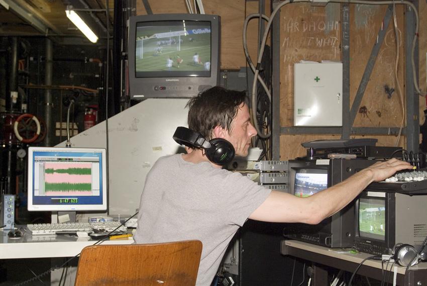 Aufnahmesession Haus der Berliner Festspiele 9.6.- 9.7. 2006 Foto: Kay-Uwe Rosseburg
