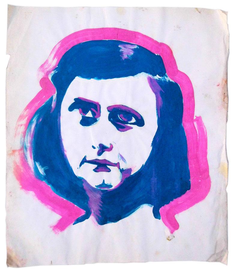 Sophie Scholl 67 x 78 cm